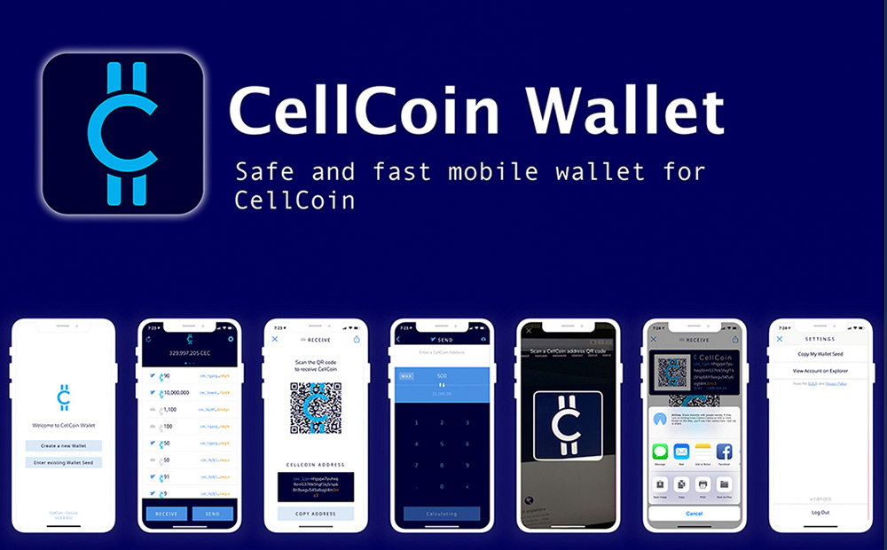 CellCoin iOS Wallet