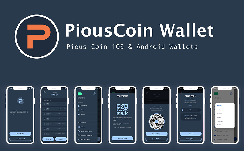 Pious Coin Wallets