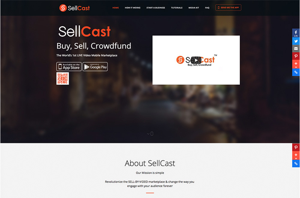 SellCast Web